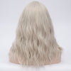 Silver long curly wig best quality at Smart Wigs Melbourne VIC Australia