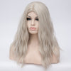 Silver long curly wig best quality at Smart Wigs Melbourne VIC