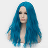 Dark blue curly wig best quality at Smart Wigs Perth WA