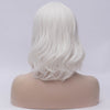 Natural white medium curly side fringe wig by Smart Wigs Brisbane QLD