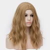 Wheat blonde long curly wig without fringe at Smart Wigs Adelaide SA Australia