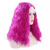 Bright Purple Short Curly Lace Front Wig - Smart Wigs Sydney NSW