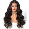 New Natural Black Long Wavy Lace Front Wig Best Price at Smart Wigs Sydney NSW