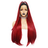 Smart Wigs Brisbane Australia offers Dark Root Natural Red Silk Straight Lace Front Wig