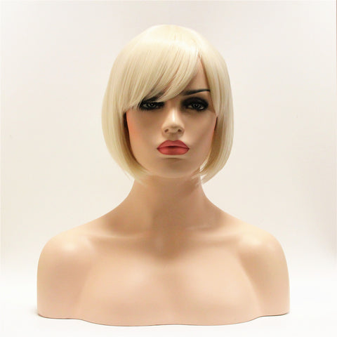 Platinum Blonde Short Bob by SMART WIGS SYDNEY