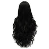 Black middle part long curly wigs best quality at Smart Wigs Adelaide SA Australia