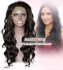 Natural Curly Chocolate Brown Lace Front Wig - Smart Wigs Adelaide AU