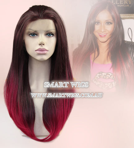 Lace Front Wig with 2 Tone Colour by Smart Wigs