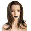 Smart Wigs Melbourne offers Dark Brown Shoulder Length Lace Front Wig