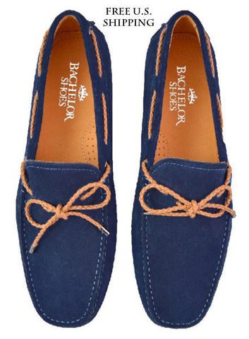 BLUE LOAFER BRAIDED LACES