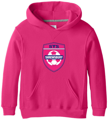 SYS Hooded Sweatshirt (Pink) (Youth)