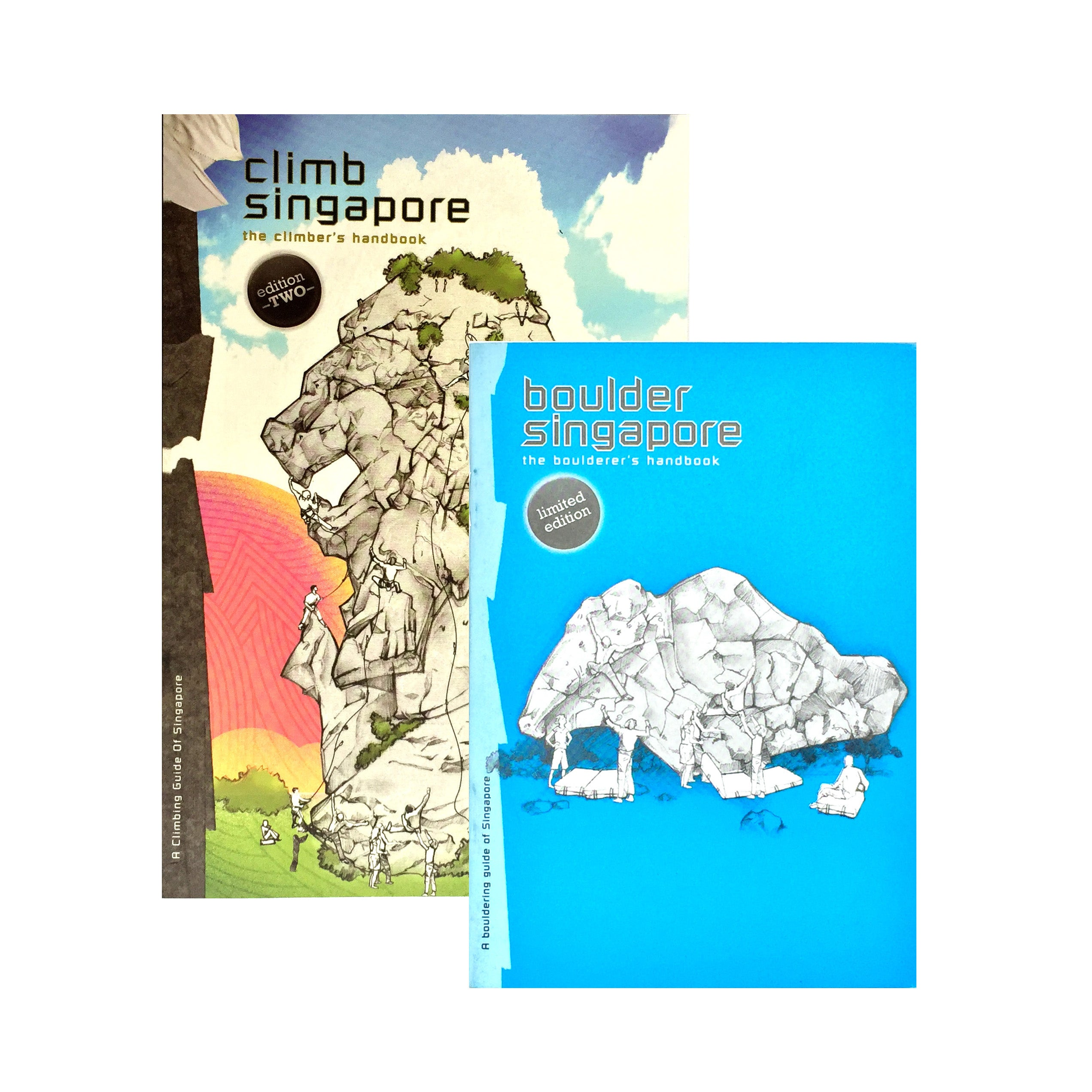 GUIDEBOOK Singapore Bundle (Climb Singapore 2nd Edition + Boulder Singapore 1st Edition)