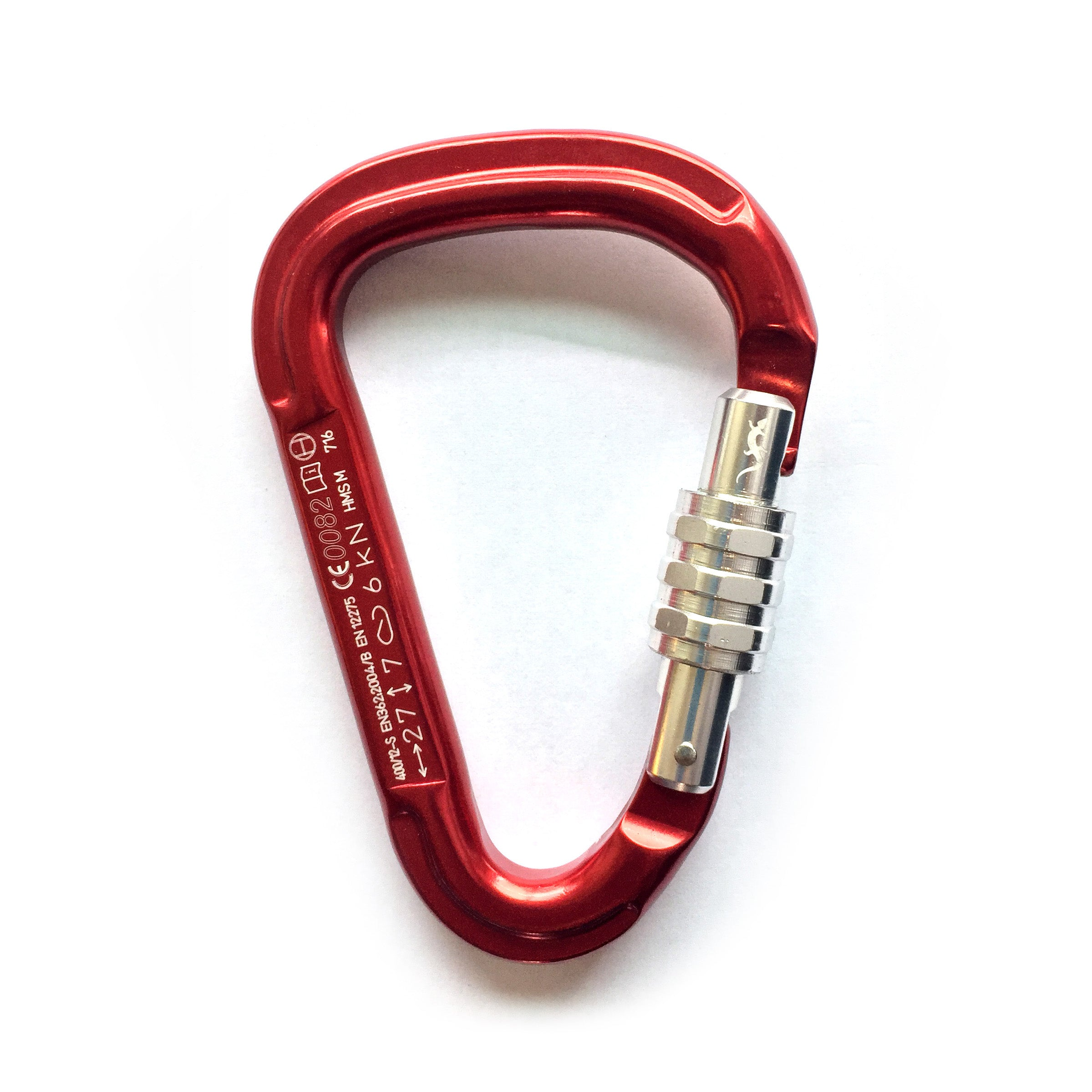 FADERS Aluminium HMS Safety Locking Carabiner