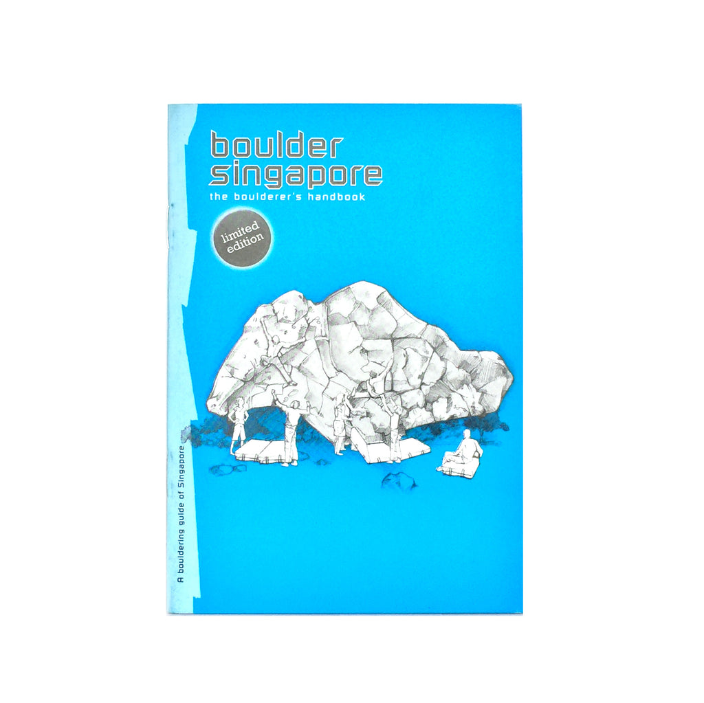 GUIDEBOOK Boulder Singapore (1st Edition)
