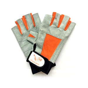 GIGA-BITE Half Leather Gloves