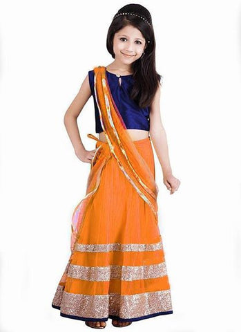 Lehenga For Kids - Girl