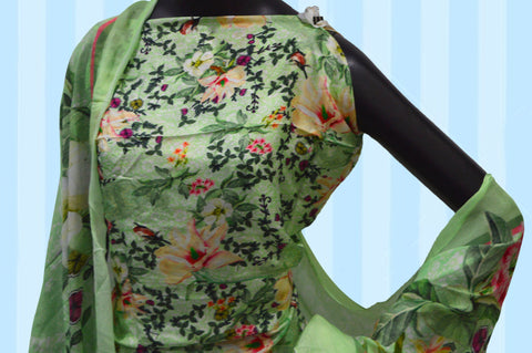 .Ludhiana Suit with Kurti & Dupatta only