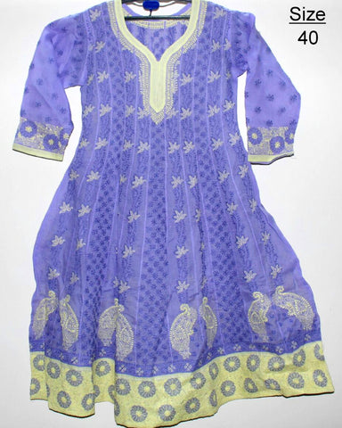 Lucknowi Cotton Anarkali