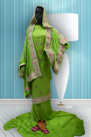 Green Color Ludhiana Suit