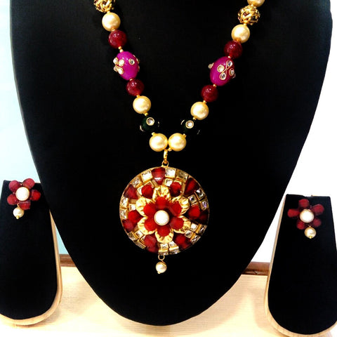 Fancy Necklace & Earrings for Women - BaazKart