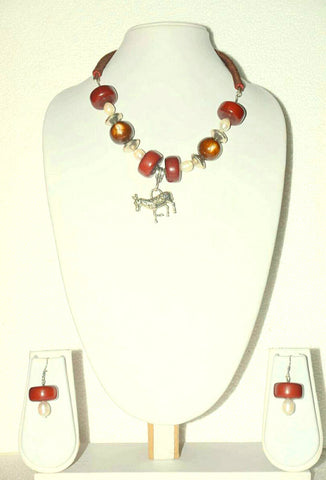 Designer Necklace With Beads