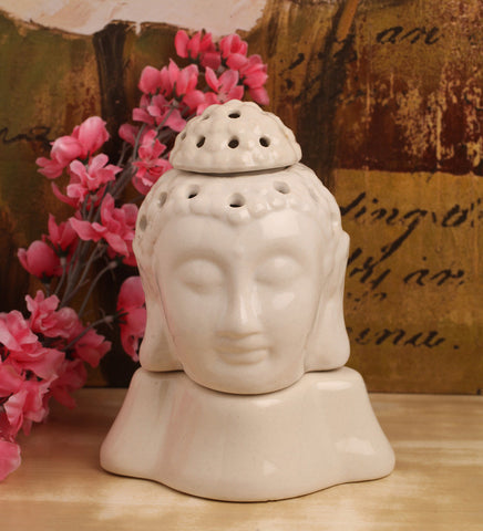 Buddha Electric Aroma oil burner in Ceramic