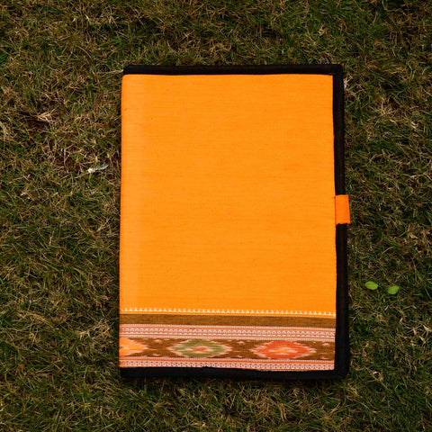 Turmeric Yellow Sambalpuri Folder