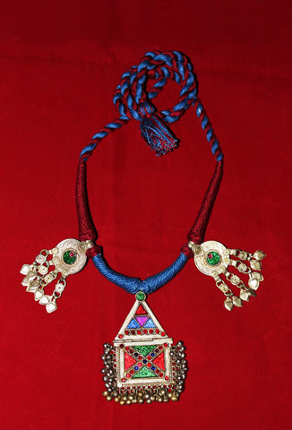 Necksets With Colored Dori