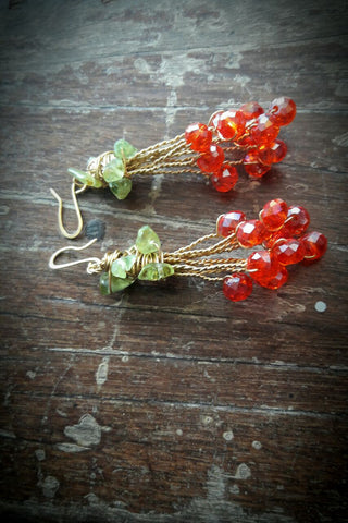 Berry Harvest Danglers