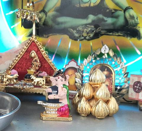 Ganesha Shivling showpiece for car and home