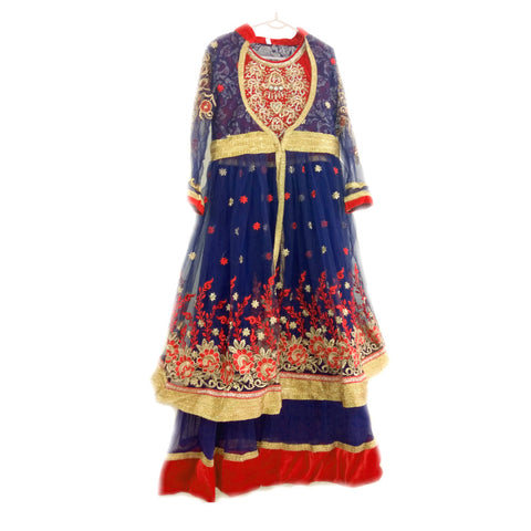 Anarkali Suits- Dark Blue