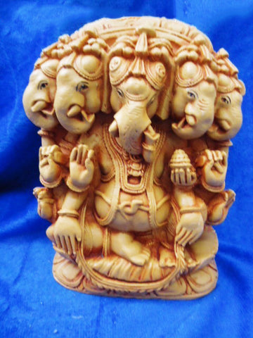 5 face Ganesh Statue
