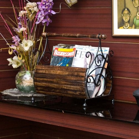Desi Karigar Magazine Stand Home Decor Item