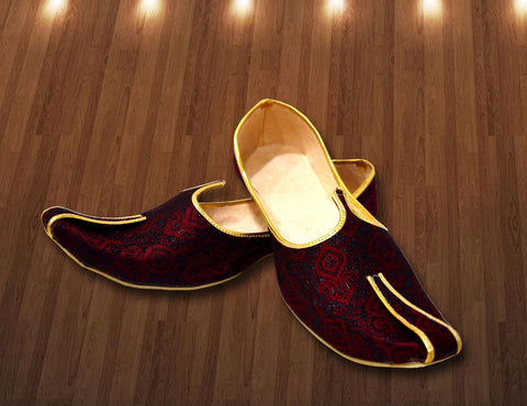 Maroon Designer Shoe for Men