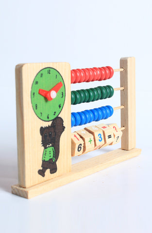 Abacus - Handcrafted Wooden Toy