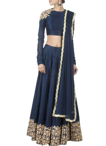 Ethnic Indian Lehenga- Blue