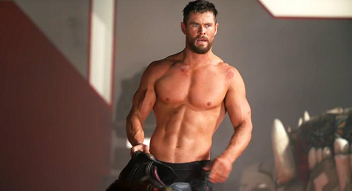 Chris Hemsworth CENTR workout