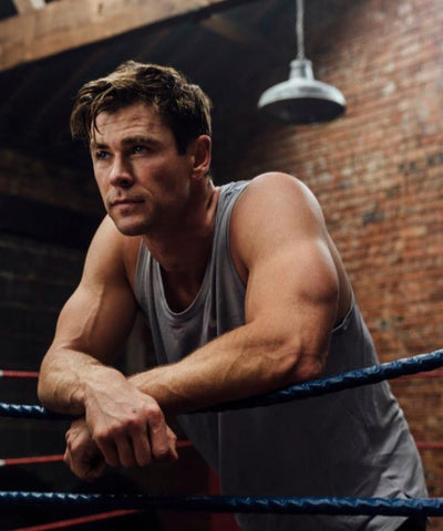 chris hemsworth at home workout