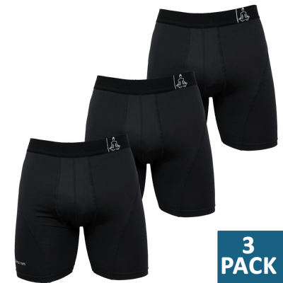 Sports Performance Underwear - Boxer Briefs with Temp-dry® technology - 3 Pack