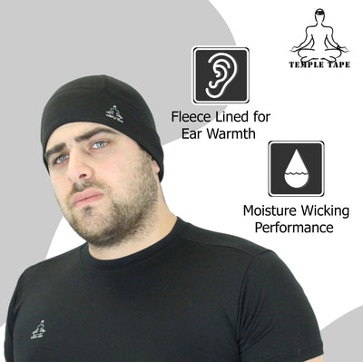 Temple Tape Slim Skull Cap Beanies Bundle & Save - 2 Packs - 25% off