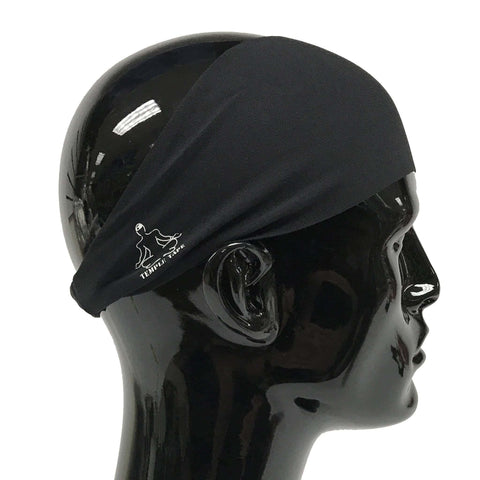 Performance Sweatband with Temp-Dry technology - Black