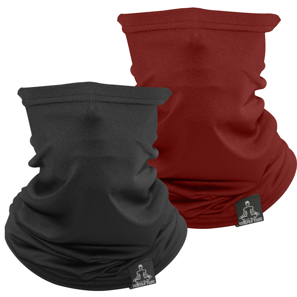 TEMPLE TAPE PERFORMANCE NECK GAITERS BUNDLE & SAVE - 2 PACKS