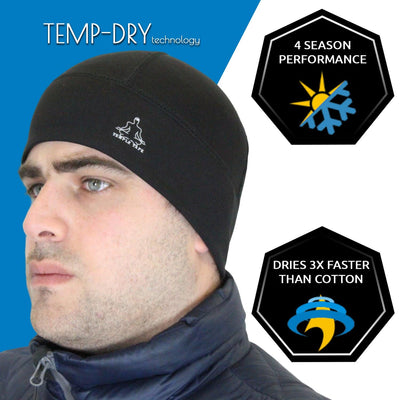 Temple Tape Slim Skull Cap Beanies Bundle & Save - 2 Packs