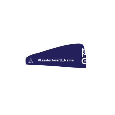 Peloton Dad's Sweatband with Leaderboard name Sweatband - Customized