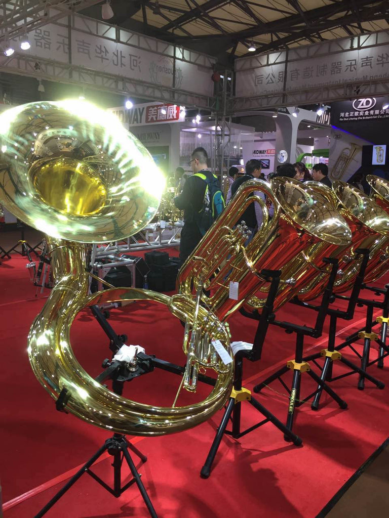 Second Day at The Shanghai Music Show