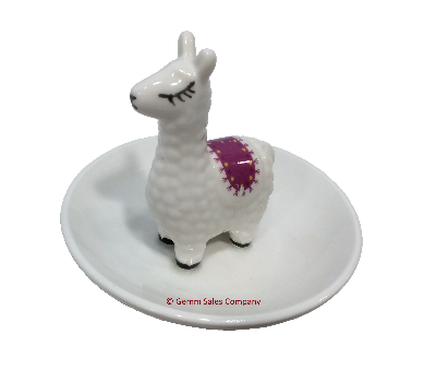 Alpaca Trinket Tray Ring Holder