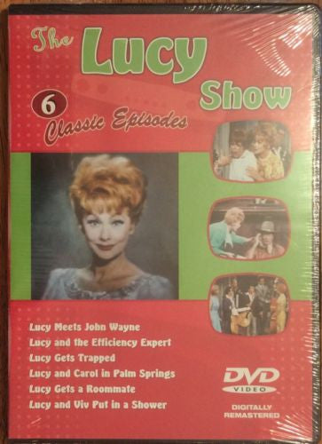 The Lucy Show 6 Classic Episodes, Comedy, DVD