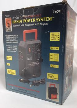 12 Volt D.C. Rechargeable Handy Power System