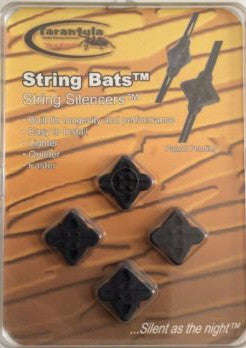 Bats String Silencers 4 pack