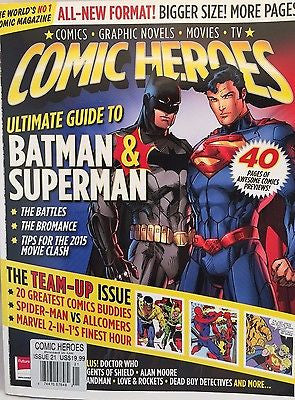 Superhero Comic Heroes Magazine Issue #21